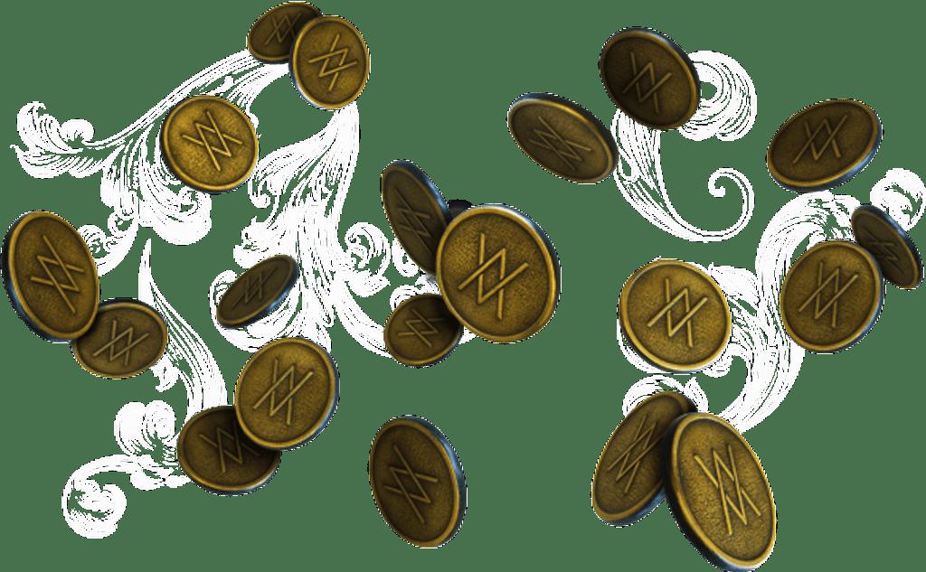 Arcane Purpose Coins