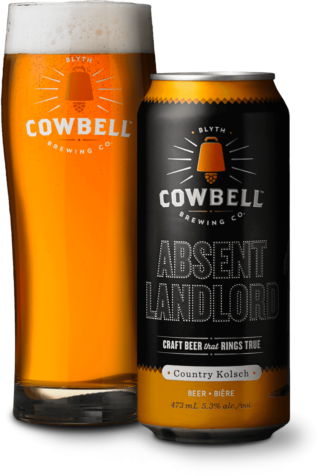 Cowbell Absent Landlord beer
