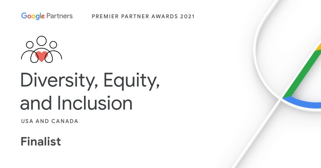 Arcane Shortlisted For Google Diversity, Equity, and Inclusion Premier Partner Award